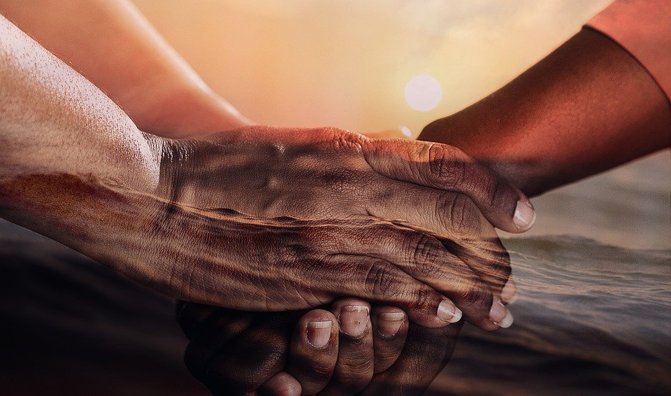 Hands, Cohesion, Together, Human, Support, Help