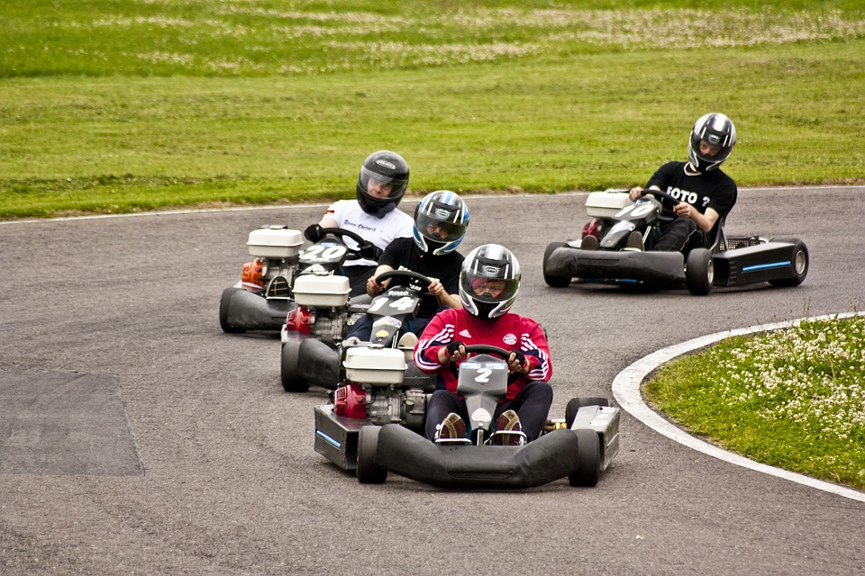 Kart, Go Kart, Race Track, Kart Racing, Go Kart Track