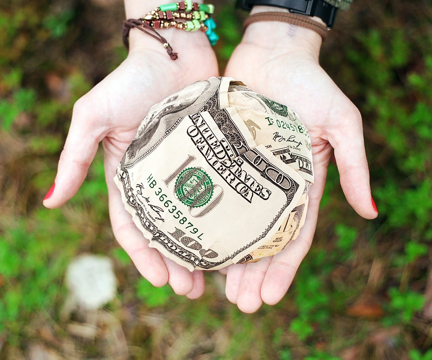 Money, Donation, Donate, Profit, Give, Help, Charity